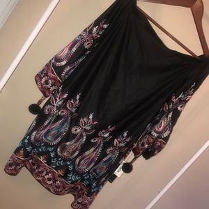 NWT Nicole Miller New York Embroidered Dress Sz 6